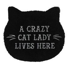 Crazy Cat Lady Doormat