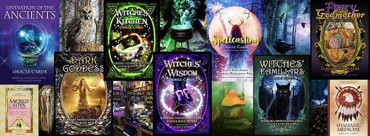 Spiritvisions Barbara Meiklejohn-Free Flavia Kate Peters Oracle Cards
