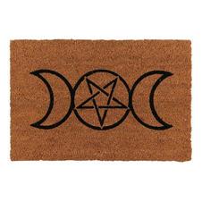 Triple Moon Doormat