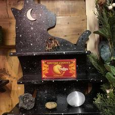 Bespoke Cat Shelf