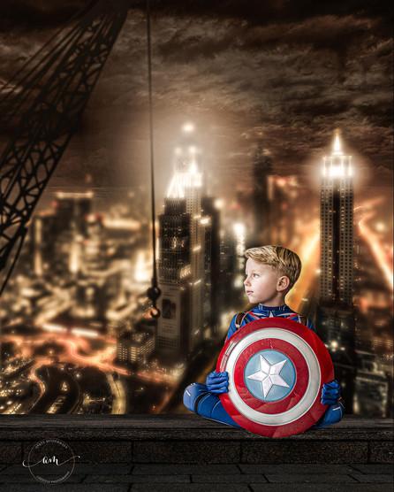 Capt America PhotoShoot Anett Mindermann Photography
