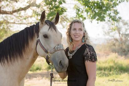 Horse and Rider Headshot