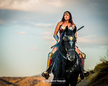 Wonder Woman Equine Photography