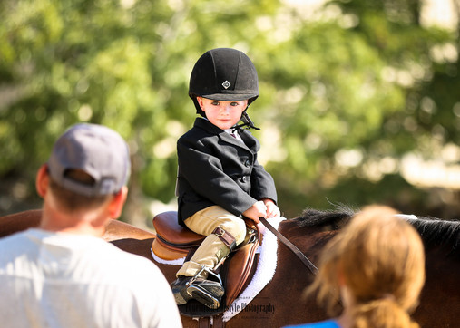 Little Boy during Horse Show