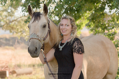 Horse and Rider Portrait