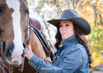 Equine Cowgirl Portrait