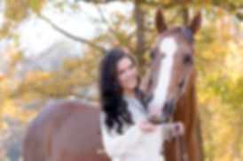 Equestrian Lifestyle Photography of a horse and rider portrait