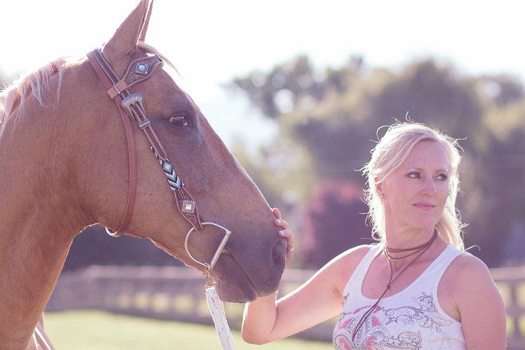 Palomino Quarterhorse and Cowgirl.jpg
