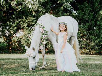 My Unicorn Fairytale Session with Izy