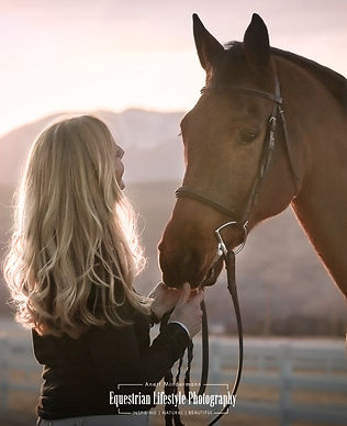 horse and rider portrait, equine photography