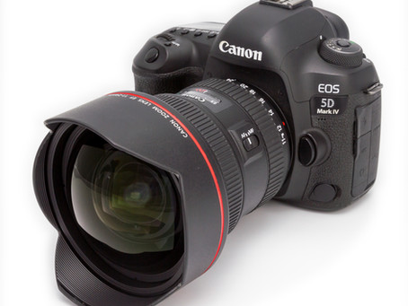 Filming with Canon Eos 5D Mark iv