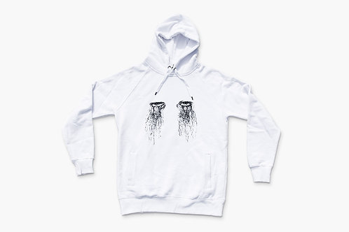 """""""Those eyes don't cry"""" Hoodie - by Common Instincts"""