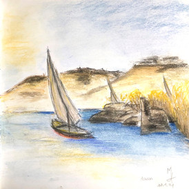 Pastel Drawings & Water Colours