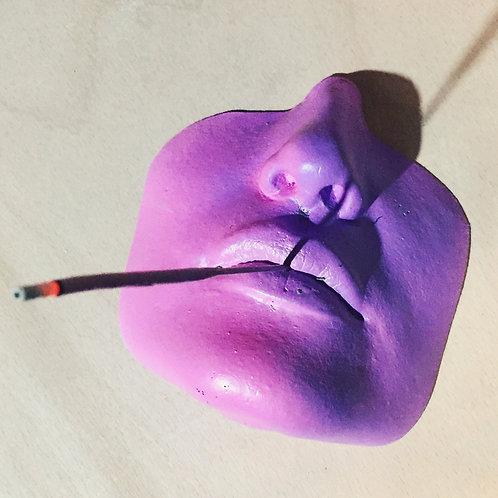 Incense Blazer // Purple Gradient Fade