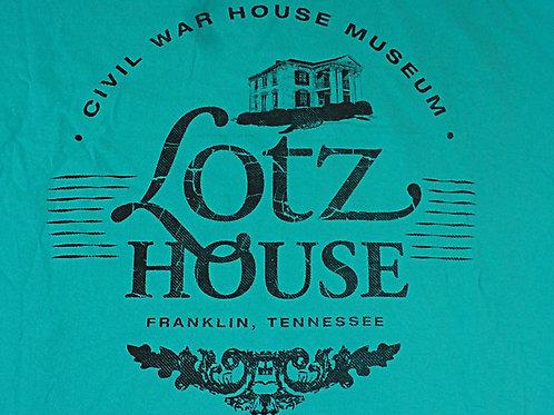 Lotz House 100% cotton BLUE  T shirt.