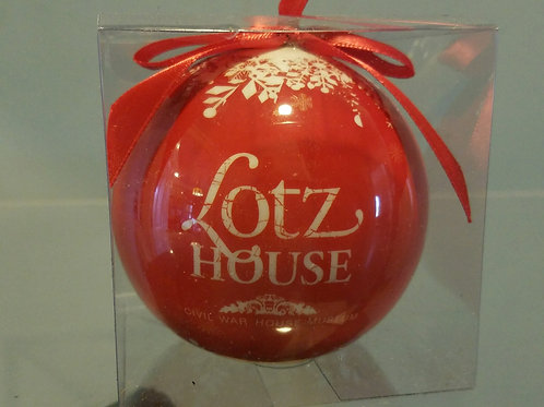 Lotz House 2017 Christmas Ornament - 2 Sided