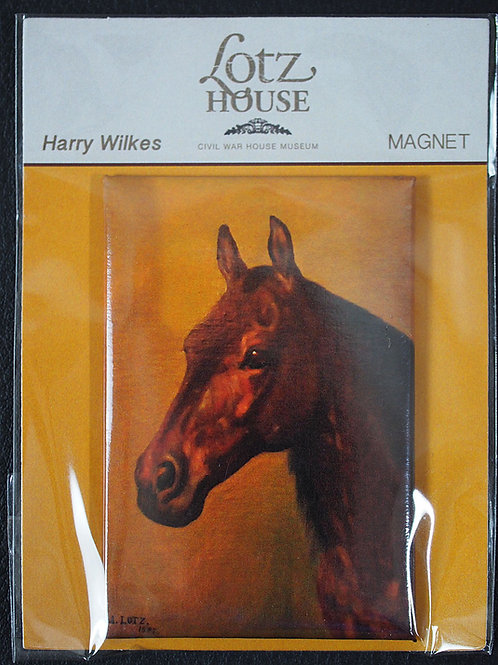 Matilda Lotz Original Painting Magnet - Harry Wilke