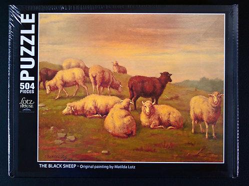 Black Sheep Puzzle - 504 pieces