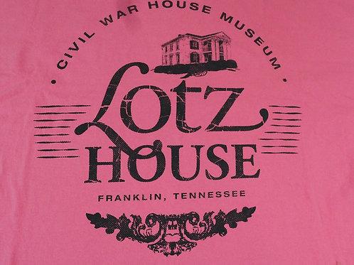 Lotz House 100% cotton PINK T shirt.