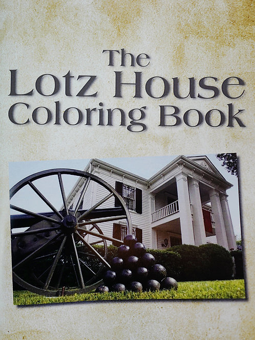 Lotz House Coloring Book