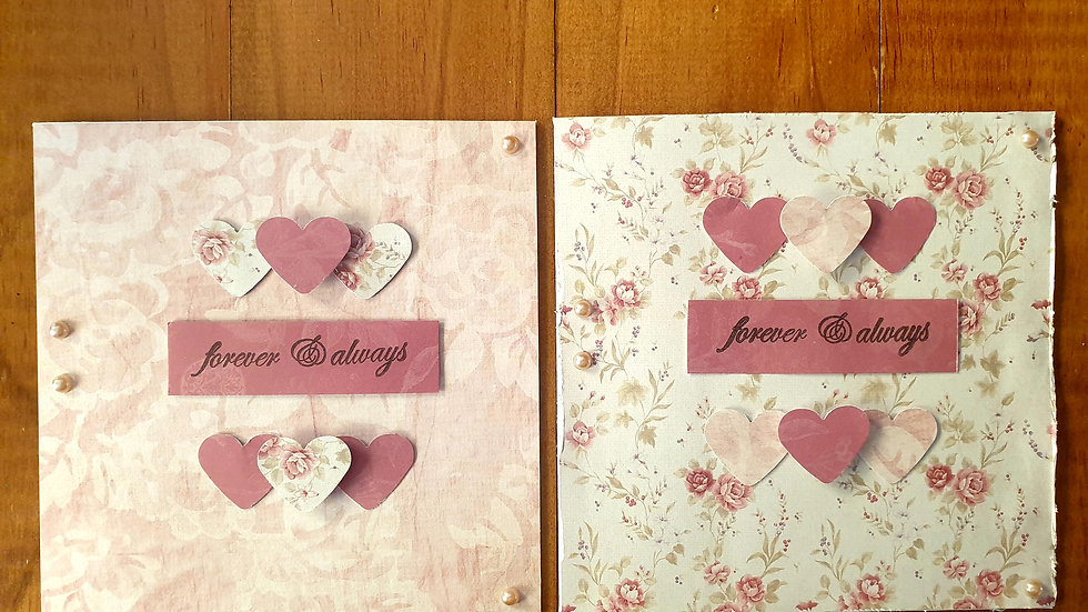 Forever and Always Card Pack of 2