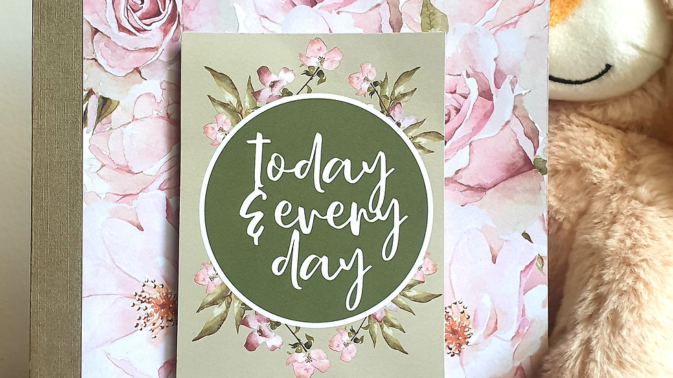 Today and Every Day Notebook
