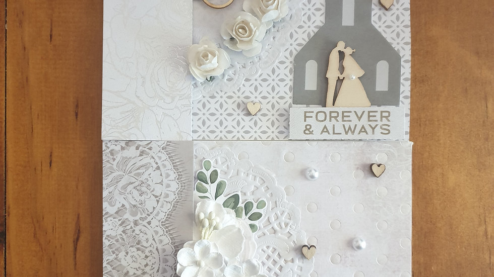 Wedding Card Pack of 2