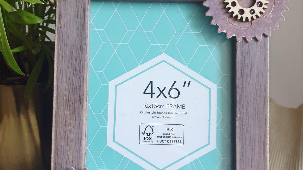 Gears and Gears Photo Frame