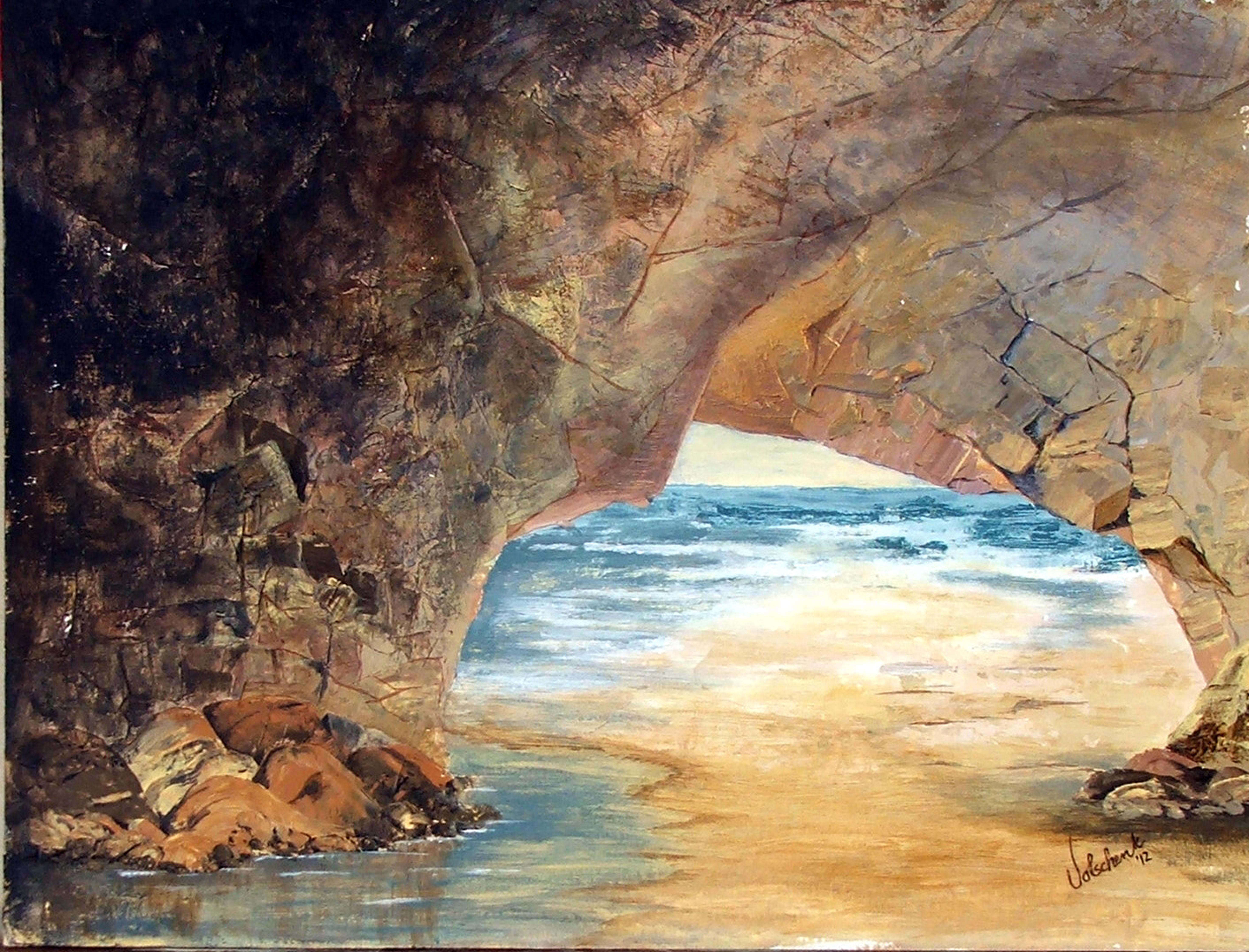 Stone arch in Malta