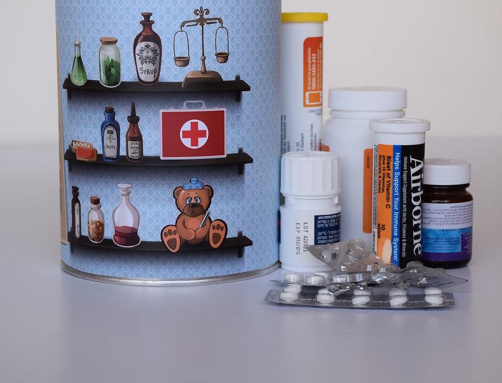 עיטופית קופסאת התרופות