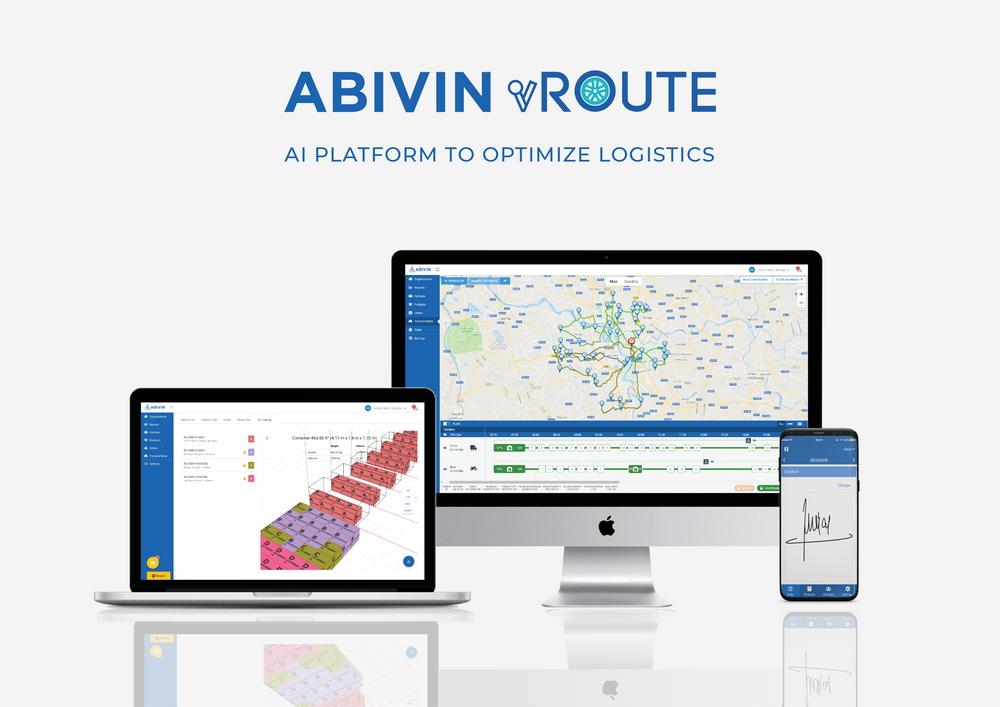 Abivin vRoute 3.0 - Leader in Logistics Optimization Software