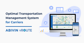Optimal Transportation Management System For Carriers - Abivin vRoute