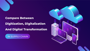 The Differences Between Digitization, Digitalization And Digital Transformation In Supply Chain