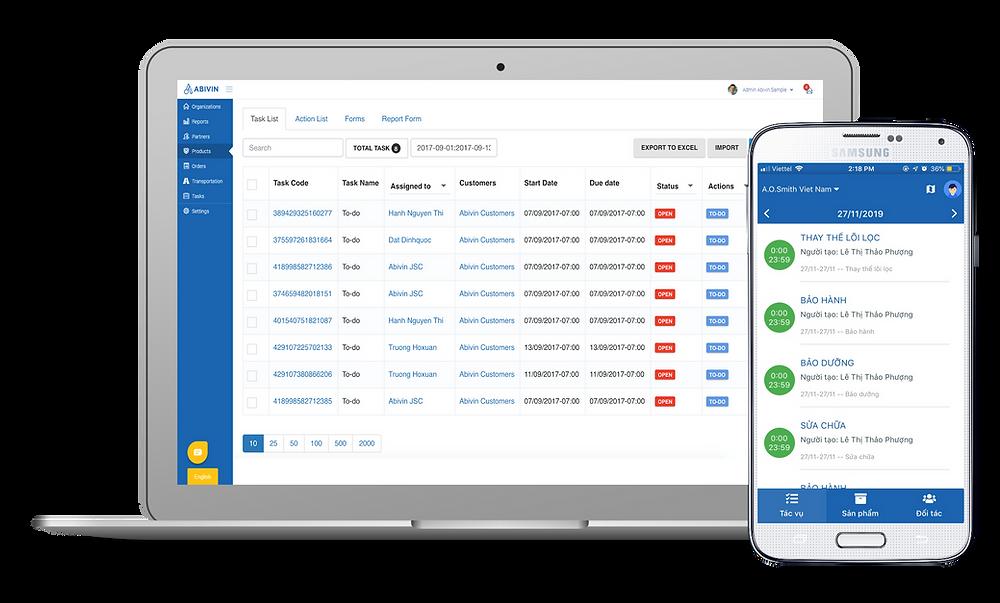 Phần mềm theo dõi đơn hàng hoặc phần mềm quản lý thông tin sản phẩm giúp nâng cao sự hài lòng của khách hàng