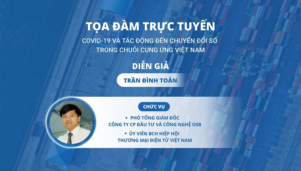 Ông Trần Đình Toản, Phó Tổng Giám đốc CTCP Đầu tư và Công nghệ OSB