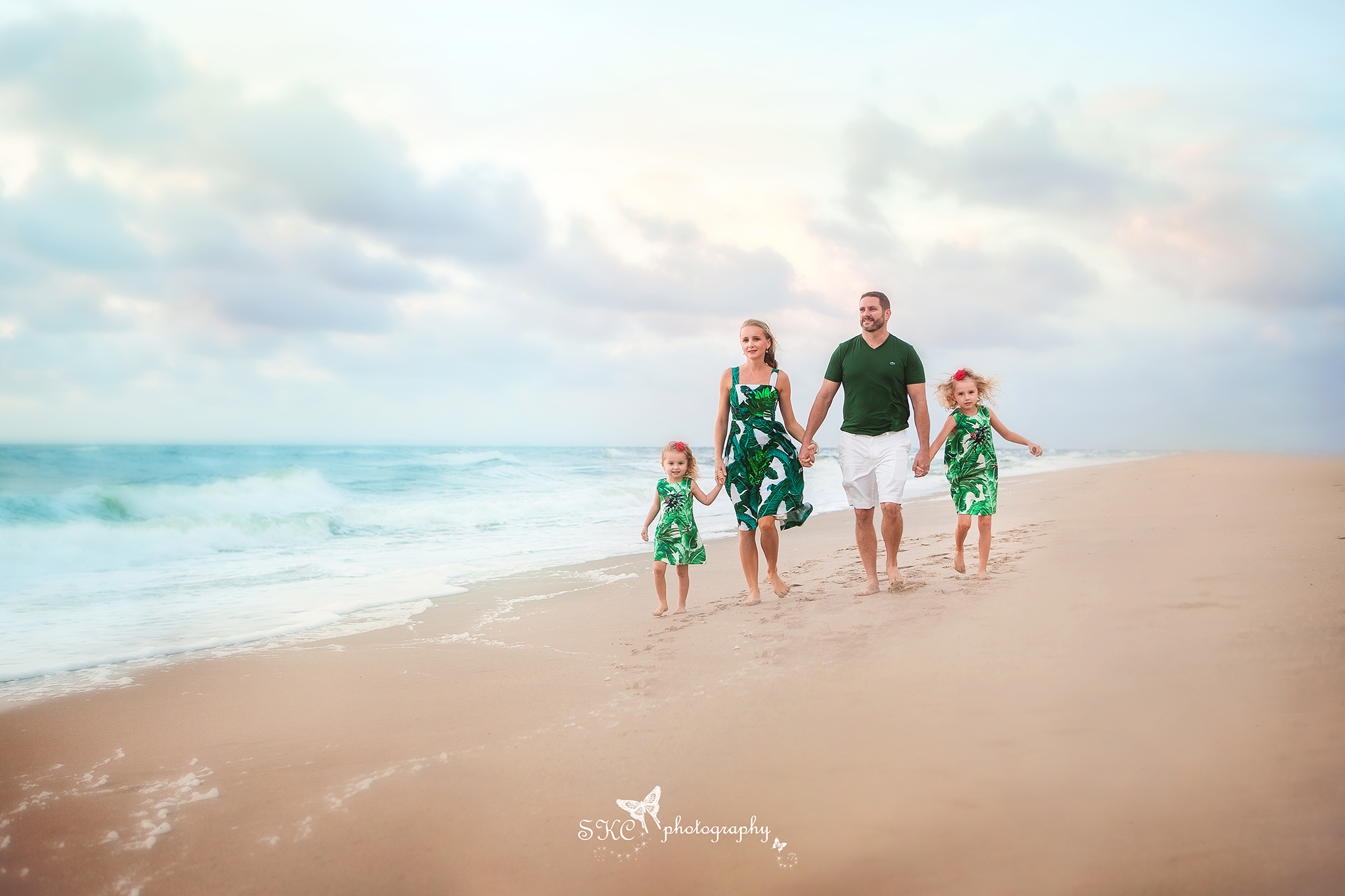 Sunrise family session