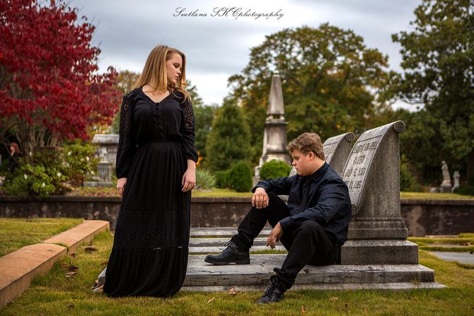 Oakland Cemetery family session