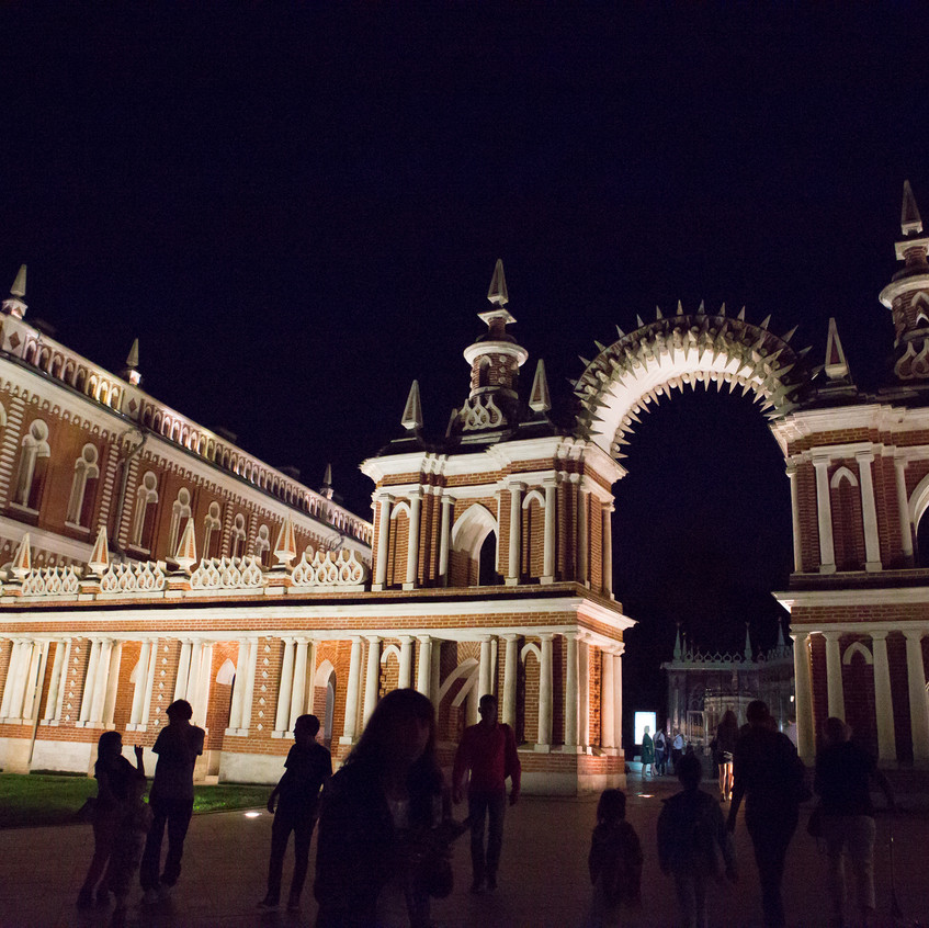 Tsaritsyno night