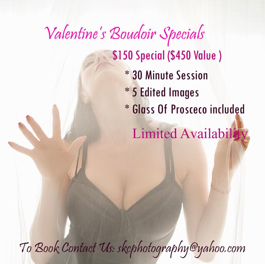 Valentine boudoir ad facebook