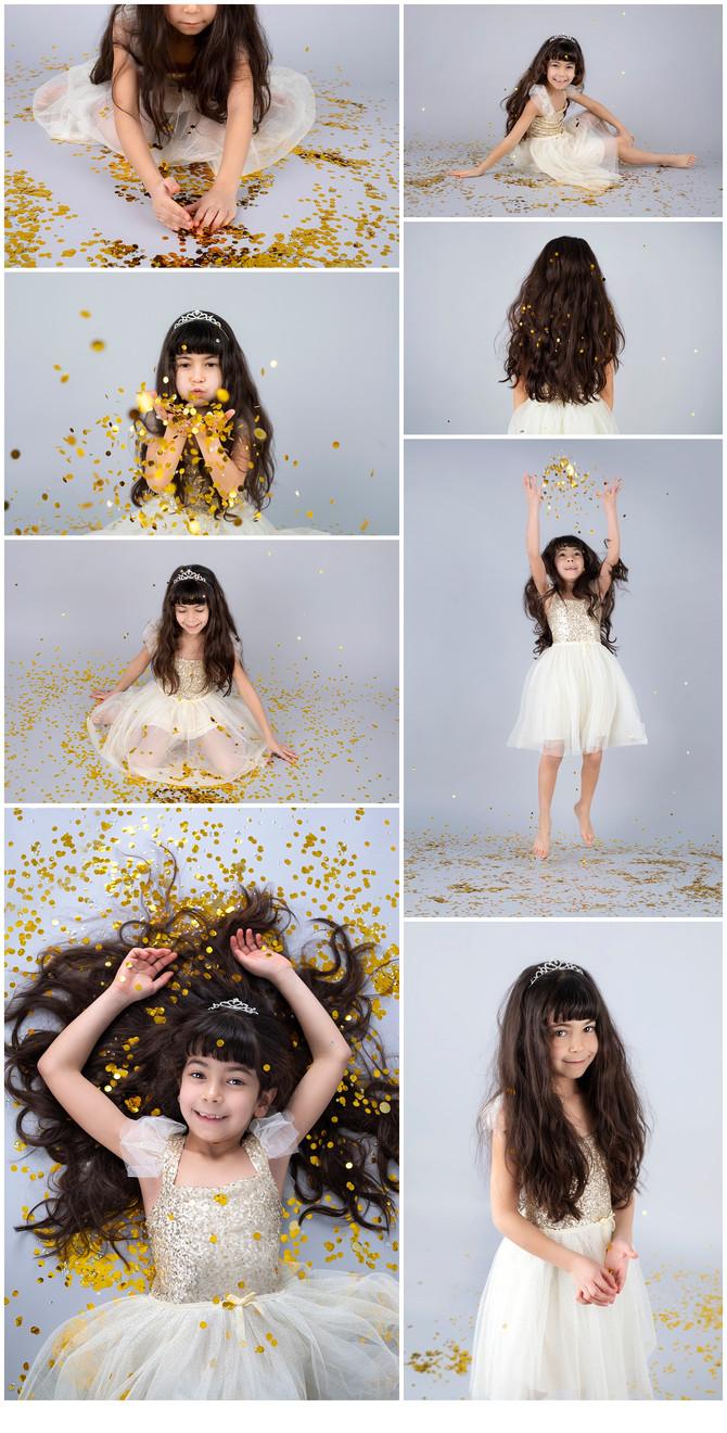 Maya - confetti photo session