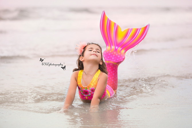 Kids Photography - Mermaids