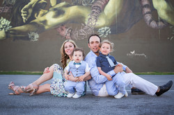 Family session at Wynwood Walls