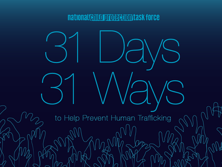 31 Ways to Help Prevent Human Trafficking