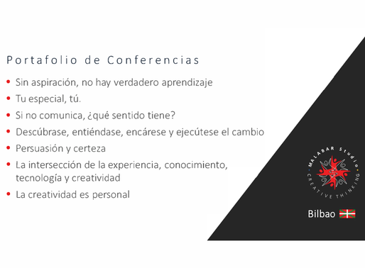 PORTAFOLIO DE CONFERENCIAS