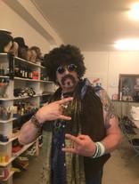 Hippie Tom in Bolero Flower-Power-Show