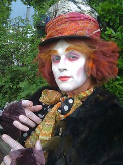 Hutmacher in Alice im Wunderland