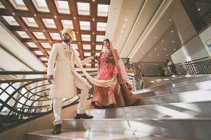 A Newly Married Indian Couple
