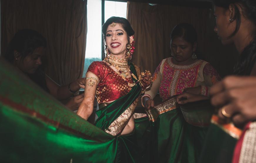 Candid Bridal Photography