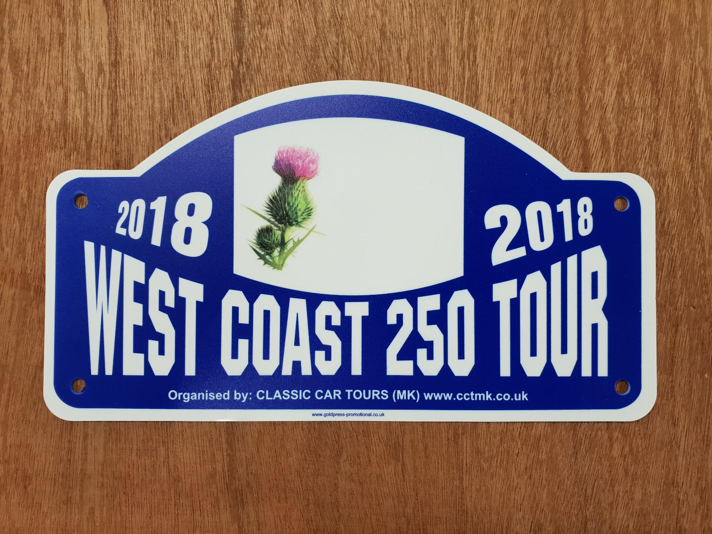 West Coast 250 Tour