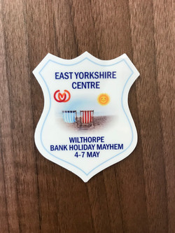 Rally Plaque In Full Colour